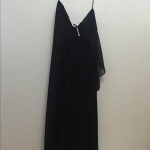 Black strapless prom/evening dress
